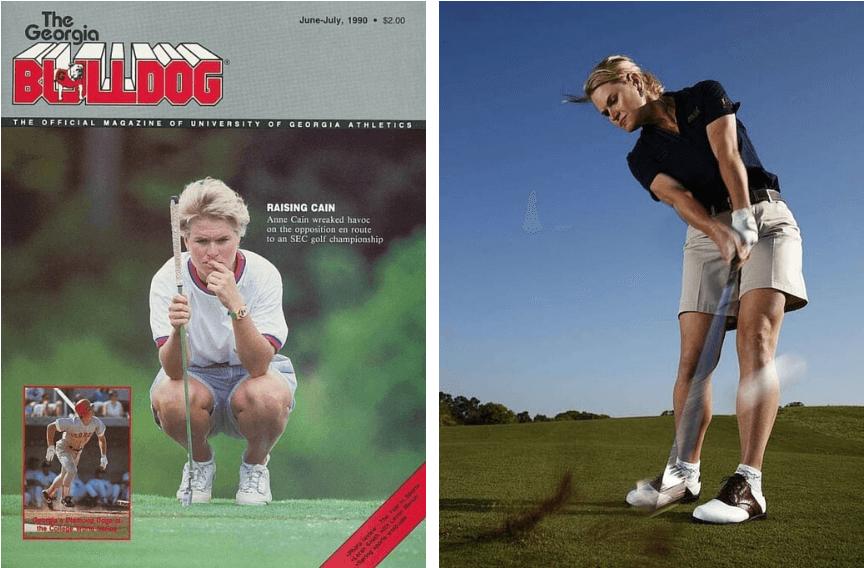 Anne Cain   Top Golf LPGA Teacher in US