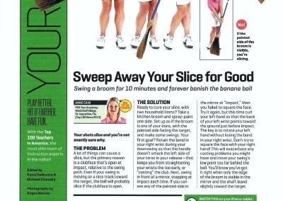 Golf Mag Broom